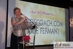 Julie Ferman (Cupid's Coach) Winner of Best Matchmaker at the 2010 iDate Awards