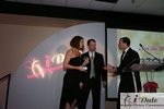 Match.com receiving Best Dating Site Award at the 2010 Miami iDate Awards