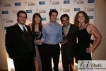 Match.com Executives with 2 Awards (Best Dating Site and Best Dating Site Design) at the 2010 iDateAwards in Miami