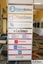 Sponsors Signage at iDate2010 Miami