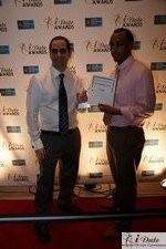 Friendfinder Executives with Best Affiliate Program Award at the 2010 iDateAwards Ceremony in Miami