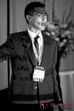Douglass Lee (Vice President at Click2Asia) at the 2011 Beverly Hills Internet Dating Summit and Convention