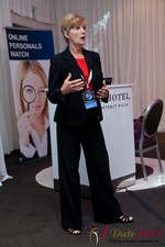 Ann Robbins (CEO of eDateAbility) at iDate2011 Beverly Hills