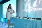 The Awards and Andrea Ocampo at the 2012 iDate Awards Ceremony