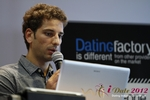 David Khalil (Co-Founder of eDarling) at the September 10-11, 2012 Mobile and Online Dating Industry Conference in Cologne