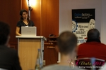 Tanya Fathers (CEO of Dating Factory) at the September 10-11, 2012 Mobile and Online Dating Industry Conference in Cologne