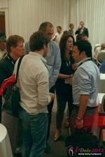 Networking at the 2013 Internet and Mobile Dating Industry Conference in Beverly Hills