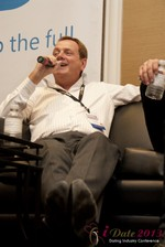Max McGuire (CEO of RedHotPie) at the January 16-19, 2013 Las Vegas Online Dating Industry Super Conference