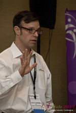 John Murphy (President at Reachmail) at the 2013 Internet Dating Super Conference in Las Vegas