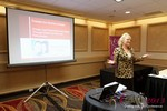 Julie Ferman (eLove / Cupids Coach) at the January 16-19, 2013 Internet Dating Super Conference in Las Vegas