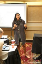 Marni Battista (CEO of Dating with Dignity) at the 10th Annual iDate Super Conference
