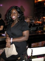 Charreah Jackson (Essence Magazine) at the Shadow Bar Party at the 2013 Internet Dating Super Conference in Las Vegas