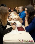 Speed Networking Session at the January 16-19, 2013 Las Vegas Internet Dating Super Conference
