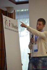 Ashley Christie, CEO of theMobileHub  at the September 7-9, 2014 Mobile and Internet Dating Industry Conference in Koln