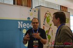 Exhibit Hall, Neo4J Sponsor  at the 39th iDate2014 Koln convention