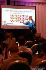 Axel Vezina, Chief Analytics Officer For Crak Media On Best Strategies For Mobile Dating Conversions  at the June 4-6, 2014 Mobile Dating Business Conference in Beverly Hills