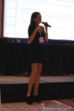 Rosalie Sutherland Of AnastasiaDate Speaking On Mobile Dating Conversions  at the June 4-6, 2014 Beverly Hills Online and Mobile Dating Business Conference