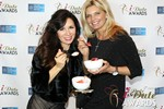 Marcella Romaya & Sheri Grande (Gluten Free Desert @ iDate) at the 2014 Internet Dating Industry Awards in Las Vegas