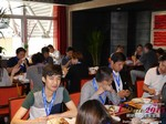 Lunch at the 2015 Asia Internet Dating Industry Conference in Beijing