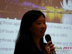 Violet Lim - CEO of Lunch Actually at the 2015 Asia Internet Dating Industry Conference in Beijing