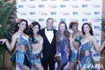 Ken Agee and Svetlana Mucha in Las Vegas at the 2015 Online Dating Industry Awards