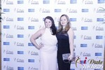 Genevieve Zawada and Sarah Ryan at the 2015 iDate Awards