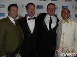 Michael O'Sullivan, Mark Brooks, Max McGuire and Marc Lesnick at the 2015 Internet Dating Industry Awards in Las Vegas