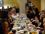 Lunch Among European And Global Dating Industry Executives   at the 42nd international iDate conference for global dating professionals in London