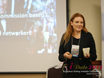 Megan Buquen CEO Matchmakers Circle  at the 2015 UK Internet Dating Industry Conference in London