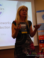 Monica Whitty Professor Of Psychology University Of Liecester at the 12th Annual UK iDate Mobile Dating Business Executive Convention and Trade Show