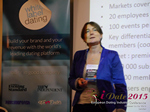 Pauline Tourneur General Manager Of Attractive World Speaking On The French Online And Mobile Dating Market  at iDate2015 Europe