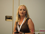 Krystina Trushnya - Publisher of Ukranian Dating Blog at the 45th Dating Agency Industry Conference in Limassol,Cyprus