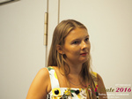 Svetlana Mukha - CEO of Diolli at the July 20-22, 2016 Premium International Dating Industry Conference in Limassol,Cyprus