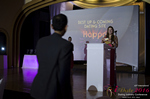 Svetlana Mukha Presenting the Best Up & Coming Dating Site Award at the 2016 iDate Awards