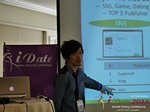 Takuya Iwamoto (Diverse-yyc-co-jp)  at the 2016 Internet and Mobile Dating Negócio Conference in Califórnia